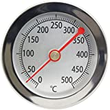 Lantelme 4239 500°C Oven / Tandoor / Smoker / Bimetal Thermometer Analogue