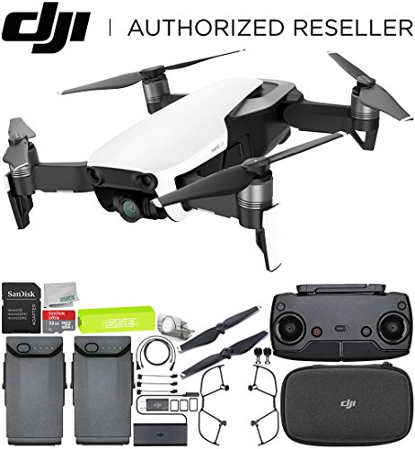 DJI Mavic Air Drone Quadcopter (Arctic White) Essentials Bundle