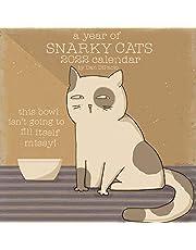 A Year of Snarky Cats 2022 Wall Calendar