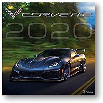 Amazon Com Calendars Corvette Wall Calendar With Full Color