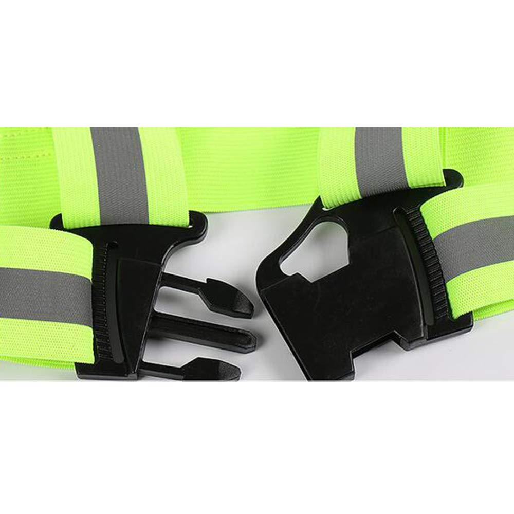 GOGO Adult Wholesale Reflective Vest For High Visibility, Motorcycle Jacket/Running Gear/Shirt-NeonGreen-50PCS by GOGO (Image #5)