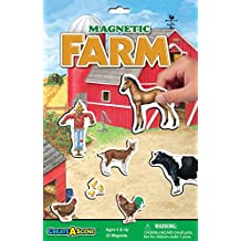 Create-A-Scene Magnetic Playset - Farm