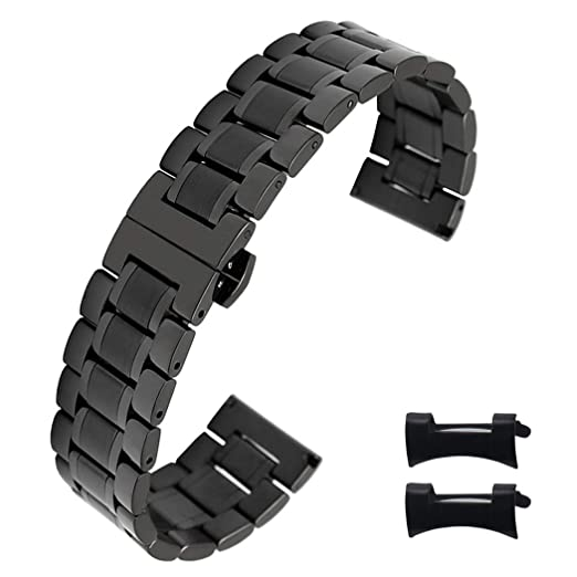 7ed9a4cf606 Amazon.com  High-end Stainless Steel Watch Bands