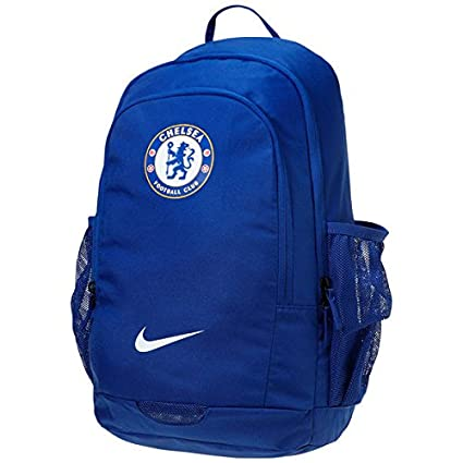 fa8828380a4f Image Unavailable. Image not available for. Colour  Nike Stadium Chelsea  Football Club Blue Backpack