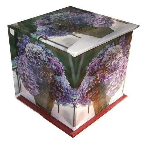 Block China Hydrangea (Hydrangea' Memo Cube with Greetings Cards and Envelopes: A Telephone Companion With 400-Page Note Block, Plus 8 Gift Cards And Envelopes)