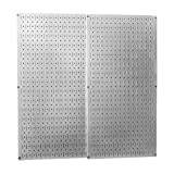 Wall Control 30-P-3232GV Steel Pegboard Pack