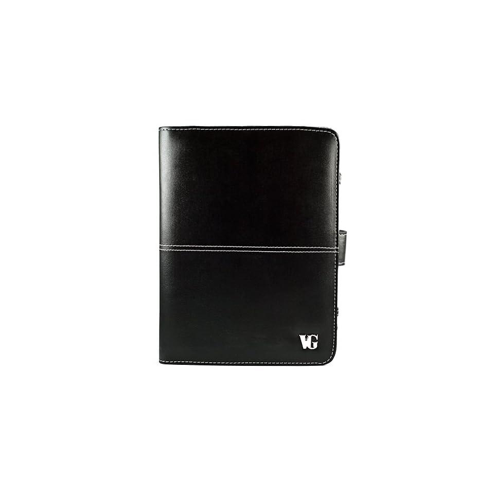 Executive Leather Case for Visual Land Prestige 7 Internet Tablet  ME 107 8GB Black