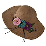 Newest trent Summer Beach Straw Hat Wide Brim Fishing Hat Folding Travel Beach Cap Fedora Sun Hats For Women