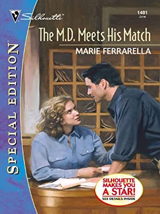book cover of The MD Meets His Match