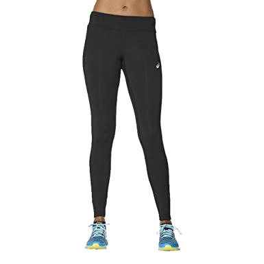 8ab71a723f7076 Asics Sport Run Women's Tights Black: Amazon.co.uk: Clothing