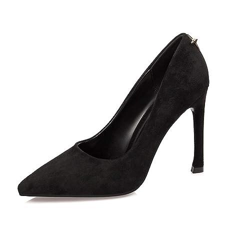 f6f9d3aea06c Court Shoes Women s Shoes Shoes High Heel Block Heel Pumps Fashion Pointed  Fine Heel Metal Nightclubs