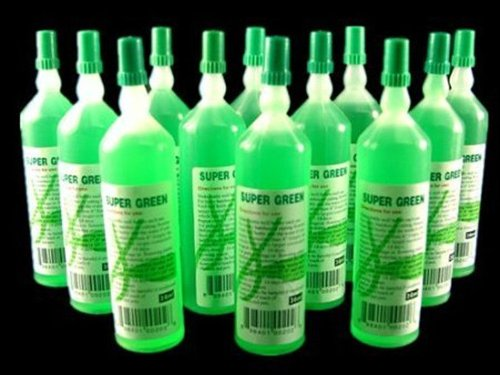 12 Bottles of Super Green Plant Food - Lucky Bamboo Fertilizer Jm Bamboo Lucky Bamboo Container