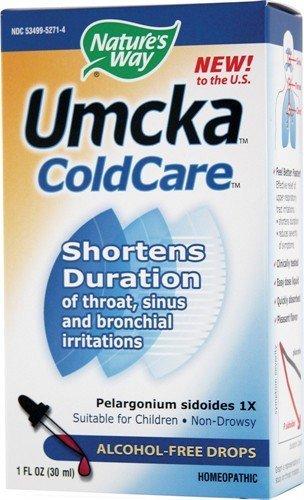 (Nature's Way Umcka ColdCare Alcohol-Free Drops 1fl oz )