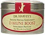 Dr. Harvey's Emune-Boost Herbal Supplement for Cats, 4-Ounce Tin