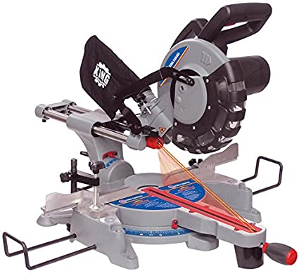 King Canada 8380 10 Inch Sliding Compound Miter Saw With Twin Laser