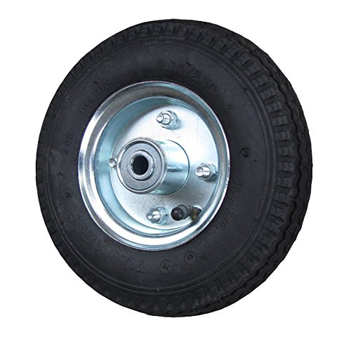 8'' Pneumatic Wheel with Centered Hub - 5/8'' Precision Ball Bearings