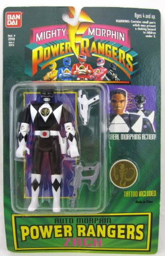 Mighty Morphin Power Rangers Auto Morphin Power Rangers Zach
