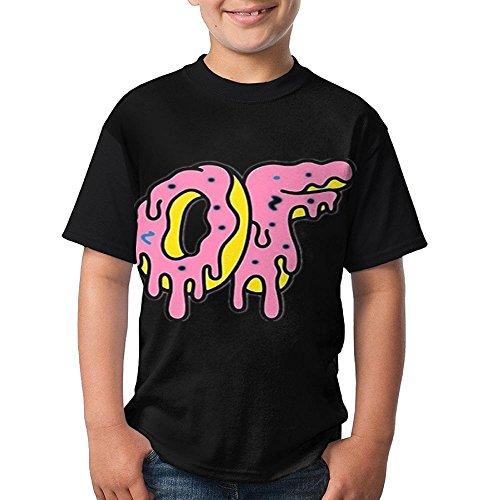 Odd Print T-shirt - Dearsally Odd Future.PNG Cozy Youth T-Shirt Original Print Logo Boys Tee Black