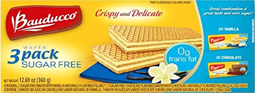 Cheap Bauducco Wafer Sugar Free Vanilla & Chocolate 3 Pack, (2) Vanilla (1) Chocolate, 12.7 oz. (1 – 3 Pack)
