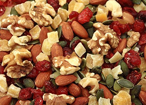 Gourmet Nut POWER UP 100% All Natural Health Mix Mega Omega