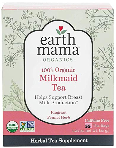Earth Mama Organic Morning Wellness Tea Bags for Occasional Morning Sicknes
