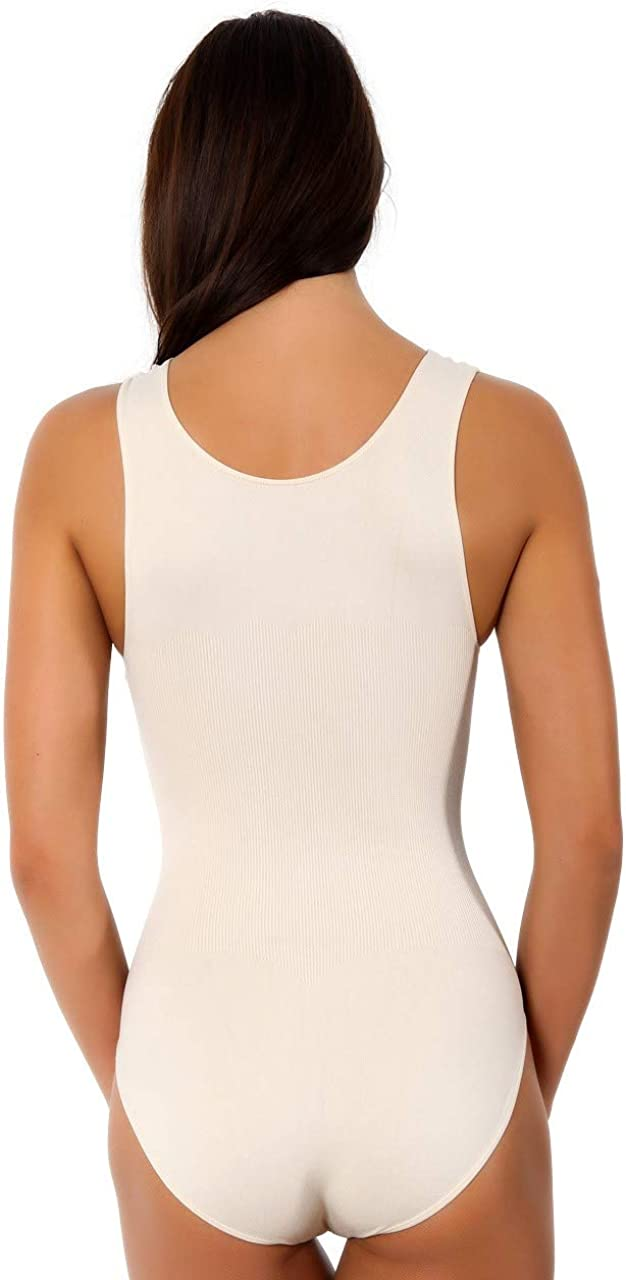 Pierre Cardin Shapewear Seamless Womens One-Piece Firm Control Bodysuit Body Shaper Briefer