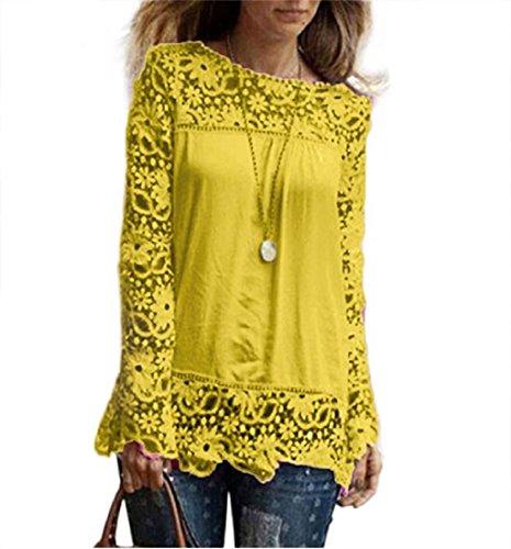 PHOTNO Fashion chiffon blouse S XXXXXL