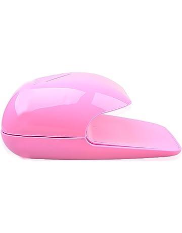 xxiaoTHAWxe Nail Dryer Fan, Portable Finger Toe Nail Polish Dryer Drying Blow Fan Manicure Art