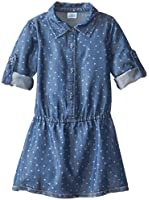 Egg by Susan Lazar Little Girls' Dotted Chambray Dress