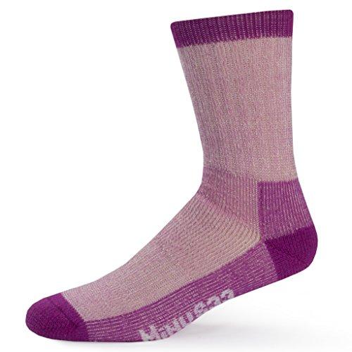 Minus33 Merino Wool 903 Day Hiker Sock Radiant Violet Small