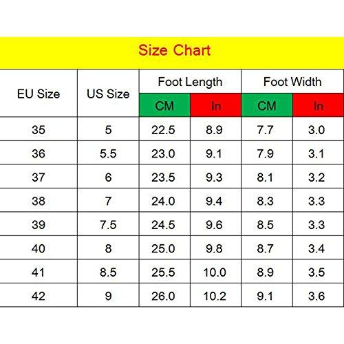 Sandalias para Zapatos de Kootk Tacón Punta Verde con de Sandalias el en Mujer Cordones Tobillo Cremallera con Alto qdUww1Cx