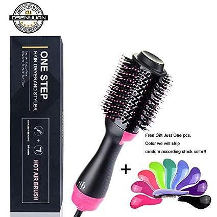 Amazon.com: Cepillo de pelo 2 en 1 alisador de pelo/peine de ...
