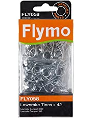 Flymo FLY058 42 Replacement Metal Tines to suit Lawn rake Compact 340/3400