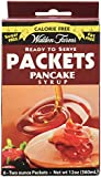 Walden Farms Ready To Serve Pancake Syrup Packets Maple -- 12 oz (1 Box)