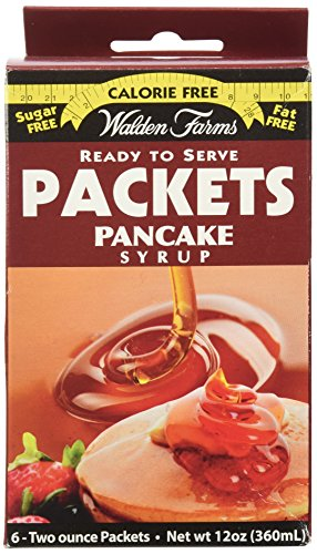 Walden Farms Ready To Serve Pancake Syrup Packets Maple -- 12 oz