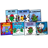 Roger Hargreaves Sparkly Mr. Men Christmas Stories 7 Books Collection Pack Se...