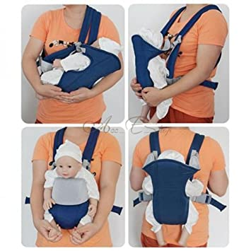 Amazon.com : Newborn Kid Infant Baby Carrier Backpack Front Back ...