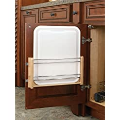 Cabinet Door Organizers Rev-A-Shelf – 4DMCB-15P – Medium Cabinet Door Mount Polymer Cutting Board cabinet door organizers