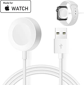 Compatible with Apple Watch iWatch Charger, Wireless Charger Cable Compatible with for Apple Watch Series 4/3/2/1