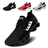VOEN Springblade Outdoor Athletic Shoes for Men Sports Running Shoes Black Size 41