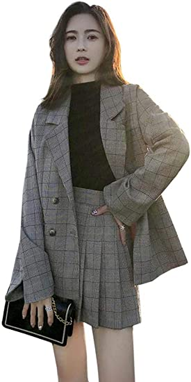 スーツ レディース チェック