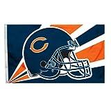 Fremont Die NFL Chicago Bears 3-by-5 Foot Helmet Flag