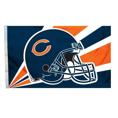 Fremont Die NFL Chicago Bears 3-by-5 Foot Helmet -