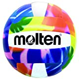 volleyball outdoor - Molten MS500-TD Recreational Volleyball, Tie Dye