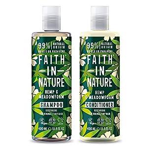 Faith In Nature Natural Hemp and Medowfoam Shampoo...