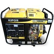 Kipor KDE5000E-EPA Open Frame Generator, 5kW