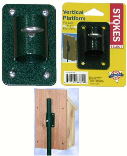 Birdhouse Mount (Stokes Select Bird House Mount for One Inch Diameter)