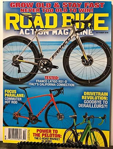 Road Bike Action Magazine Franco Latigo RS1-D Tested Oct 2018