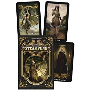 AzureGreen DSTETAR Steampunk Tarot Deck and Book by Barbara Moore by AzureGreen