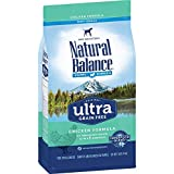 Natural Balance Puppy Formula Dry Dog Food, Original Ultra Whole Body Health, Chicken, Brown Rice & Duck Meal...